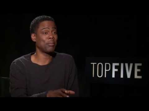 Chris Rock thinks TOP FIVE is his last chance!