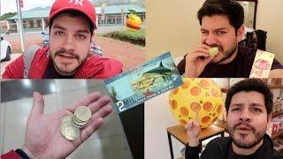 El día de hoy haremos dos COSAS a la vez, el TAG del TIANGUIS y comiendo con 100 pesos UN DIA ENTERO en este hermoso país, COSTA RICA.