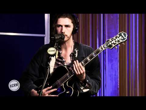 "Hozier performing ""Take Me to Church"""