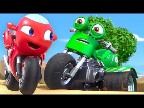 Ricky Zoom Brasil | A moto misteriosa salva o dia! | Desenhos Animados