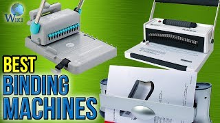 10 Best Binding Machines 2017