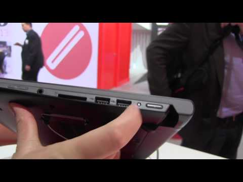 Lenovo IdeaPad Flex 14 Hands On: Convertible Ultrabook extra solid mechanism