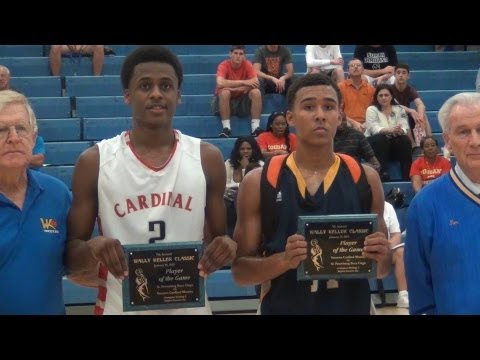 6'4 Sophomore Antonio Blakeney vs. 6'1 Senior Dallas Moore. Highlights. Cardinal Mooney wins by 15