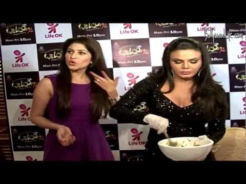 Rakhi Sawant at New Show 'Welcome ' Launch On Life