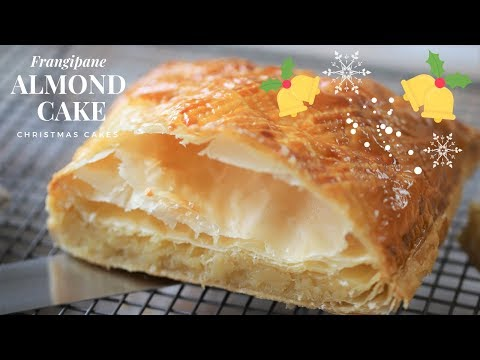 How To Make Frangipane : Puff Pastry Almond Cake (Tutorial For Beginners) - Christmas Cake Ideas