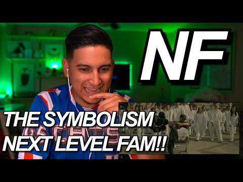 NF - LEAVE ME ALONE VIDEO REACTION!! | THE SYMBOLISM CRAZY!!!
