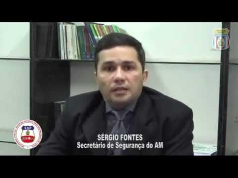 Fala do Secretário de Segurança - Sérgio Fontes