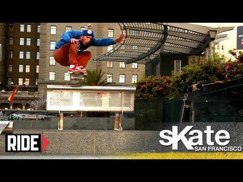 Tony Manfre - This week Tony Manfre, Shawn Whisenant, Brian Warner & Ben Gore give you a personal skate tour of San Francisco. More Episodes of SKATE...: http://bit.ly/VH8...