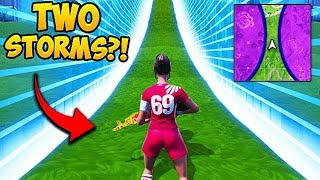 *SUPER RARE* 2 STORM CIRCLES IN ONE GAME! - Fortnite Funny Fails and WTF Moments! #522