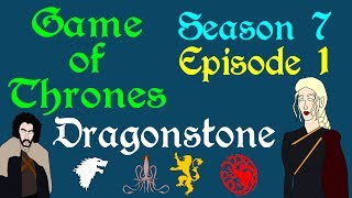 """A brief breakdown of Game of Thrones, Season 7 Episode 1, entitled Dragonstone, from Bran in the North to Sam in the South. Based on the series A Song of Ice and Fire by George R R Martin.Support Civilization Ex with a Monthly Pledge of your choice at:https://www.patreon.com/civilizationexFollow us https://twitter.com/civilizationexVisit our Site: http://www.civilizationex.com/Music By RFGBc: https://www.youtube.com/channel/UCQKGLOK2FqmVgVwYferltKQMusic by Ross Bugden (RFGB): """"Ice and Fire""""https://www.youtube.com/channel/UCQKG...If you would like to show your support, please Donate! :)https://www.paypal.com/cgi-bin/webscr..."""