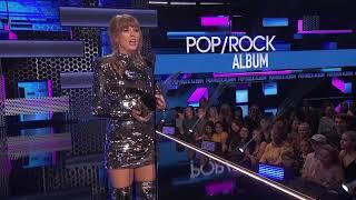 Taylor Swift's 'Reputation' Wins Favorite Album - Pop/Rock - AMAs 2018