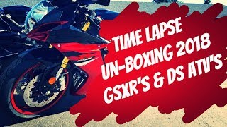 7. 2018 GSXR 600,  750 & Can-Am DS 250 & 70 Time Lapse Builds
