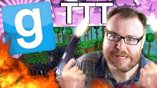 TROUBLE IN TERRARIA TOWN - Gmod TTT (Garry's Mod Funny Moments)