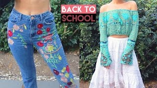 Hey guys! In todays video I show you a try-on back to school fashion clothing haul with online fashion boutiques Spell Designs, ASOS, Zabel Boutique, ...