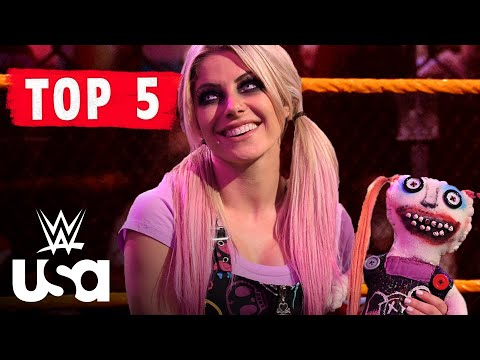WWE WEEKLY TOP 5: Alexa Bliss' Haunted House Comes to Raw   6/12/21   WWE on USA