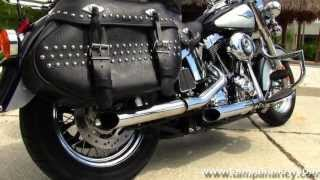 6. Used 2012 Harley Davidson FLSTC Heritage Softail Classic For Sale Dallas Texas