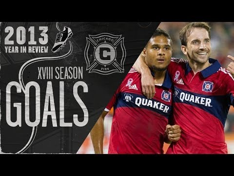 Video: Every Chicago Fire goal in 2013