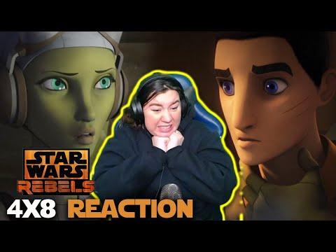 """Star Wars Rebels 4x8 REACTION! """"Crawler Commandeers"""""""