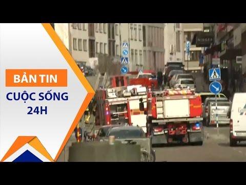 Thụy Điển: Khủng bố đẫm máu bằng ôtô | VTC - Thời lượng: 58 giây.