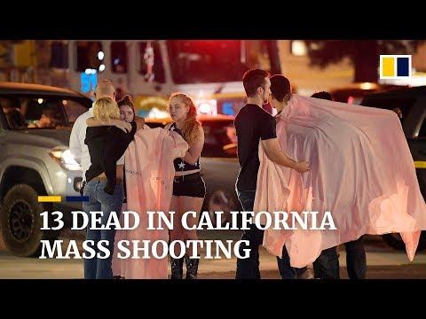 13 dead in California mass shooting