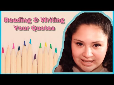 Happy quotes - ASMR │Writing & Reading Your Quotes │Whiteboard & Markers
