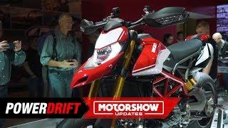 10. 2019 Ducati Hypermotard 950 : Beauty with brains : EICMA 2018 : PowerDrift