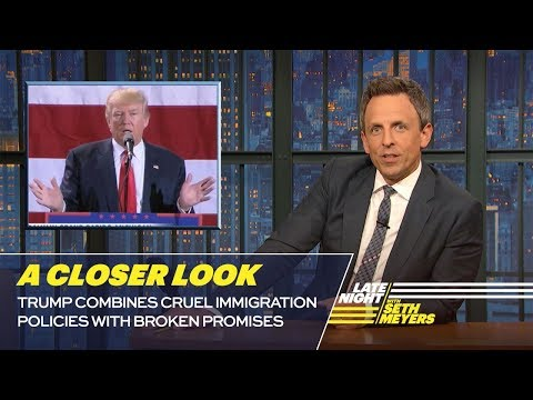 Trump Combines Cruel Immigration Policies w/ Broken Promises