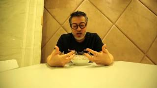詹瑞文唔用手食黑炆炆Oreo飯! Jim Chim tastes the Oreo Rice with hands off!
