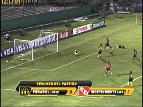 Gol de Parra al Peñarol