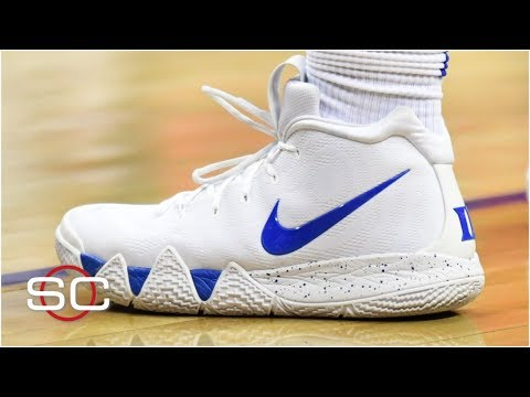How Zion Williamson's new custom Kyrie 4s came about   SportsCenter