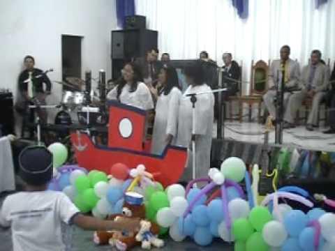 Congresso de Crianças - Assembleia de Deus Antonio Gonçalves-BA