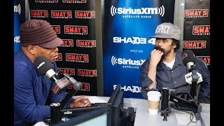 """Damian """"Jr. Gong"""" Marley sat in on Sway In The Morning and discussed his new solo album Stony Hill, genre-blending, and..."""