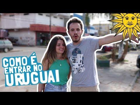 Como é ENTRAR NO URUGUAI