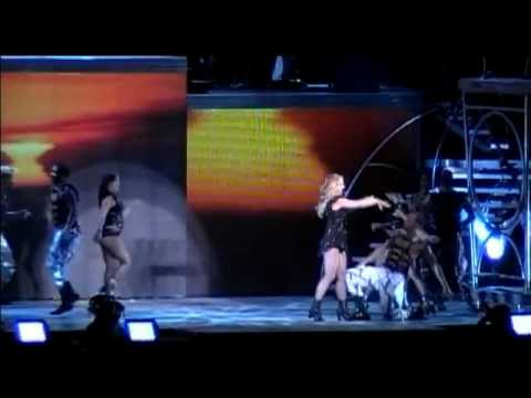 till the world ends - Concierto Completo de Britney Spears en Estadio Nacional, Chile Disponible en DVD.