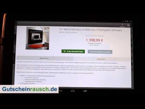 Möbel ideal App im Test auf Gutscheinrausch.de