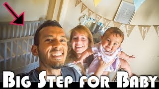 It is a big step for Story today as we complete the building of her cot bed & get her nursery ready for her to move into! ➡️BECOME AN 8-MILER: http://www.patreon.com/8milesfromhome➡️Find Out More ABOUT US: http://thesetinymoments.one🎦 SUBSCRIBE to our cinematic family video diary channel 'These Tiny Moments' : http://bit.ly/subTTM🚙-WHO WE ARE:BRITISH FAMILY VLOGGERS Sacha & Jmayel are '8 Miles From Home', a unique representation of a real life adventure. Following the lives of a Man, Woman, Baby & Dog as expats in Asia and now in Europe. Now LIVING IN PORTUGAL, creating a DAILY VLOG documenting the lives of 2 English film makers making a new life for themselves with Eden the dog and a baby Story. Subscribe to stay up to date. New videos every weekday.📭 Postal  Correspondence Address (mail and letter items only)-Jmayel El-haj - Unit 11130, PO Box 6945, London, W1A 6US📦 Parcel  Courier Point Address (parcel and courier delivery only)-Jmayel El-haj - Unit 11130, Courier Point, 13 Freeland Park, Wareham Road, Poole, Dorset, BH16 6FH, UK.*SUPPORT OUR CHANNEL MONTHLY: http://www.patreon.com/8milesfromhome*Eden's Dog Bandana's (RTBs): http://DandieDogs.com *Dog Sanctuary: http://OneWorldSanctuary.orgVLOG CAMERA = http://bit.ly/SONYVLOGCAMERASLR CAMERA = http://bit.ly/CANONSLRBODYYOUTUBE: http://bit.ly/SUBSCRIBEonYTFACEBOOK: http://facebook.com/8milesfromhomeTWITTER: http://twitter.com/8milesfromhomeINSTAGRAM: http://instagram.com/8milesfromhomeCAMERAS & EQUIPMENT: http://bit.ly/cameras-equipmentPLACES WE GO MAP: http://bit.ly/PlacesWeGoMapFor collaborations and business inquiries, please contact via email.TAGS: FAMILY VLOG, VLOGGERS, BABY, CHILD, DOG, BRITISH, EXPAT, PORTUGAL, EXPAT LIFE, REAL LIFE, EXPATS, EXPAT VLOG, DAILY VLOG, 8 MILES FROM HOME, BEHIND THE SCENES, ADITL, A DAY IN THE LIFE VLOGS, 2 FILM MAKERS, MARRIED COUPLE, CINEMATIC DAILY VLOG, CINEMATIC VIDEO DIARY