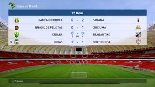 PES 2017 Goias x Portuguesa Copa Do Brasil
