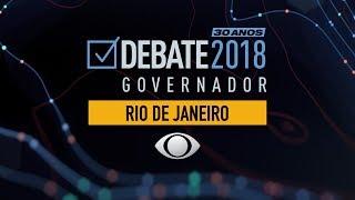 Debate para governo do Rio de Janeiro