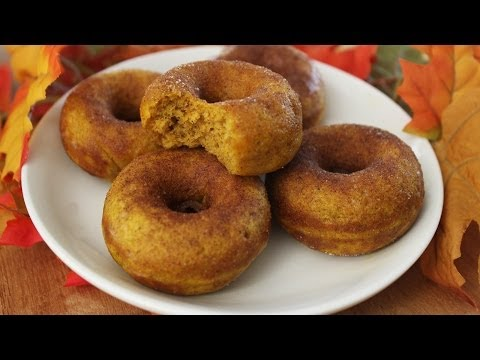 How to Make Pumpkin Donuts!