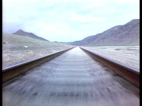 THE SILK ROAD I - 9 of 12 - Through the Tian Shan Mountains by Rail
