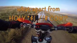 6. 2017 KTM 350 EXC-F first ride and comparison with Honda CRF 250XRL