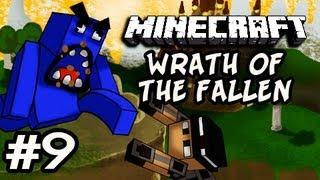 Minecraft: Wrath Of The Fallen w/Nova&Kevin Ep.9 - BLEZIUM BOSS FIGHT
