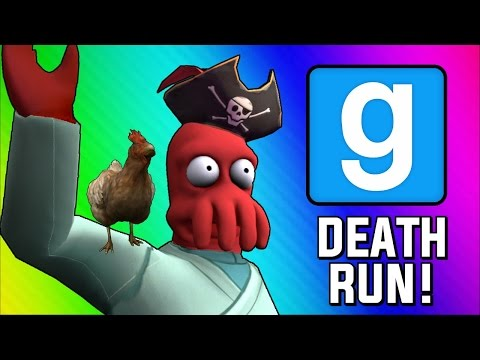 Gmod Deathrun Funny Moments - Pirate Ship of Death! (Garry's Mod Sandbox Funny Moments) (видео)