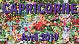 CAPRICORNE - AVRIL 2019 ~ Une belle maturité émotionnelle !!