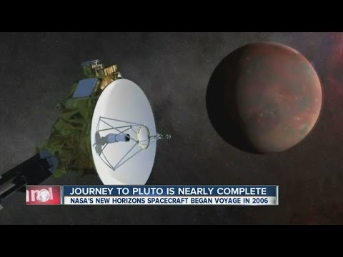Journey to Pluto is nearly complete
