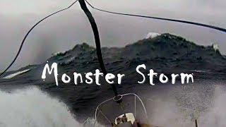 Download Video Sailing in Monster Storms | Storm Tactics | Ships in Big Waves Heavy Seas - Sailing Aulani Aloha MP3 3GP MP4