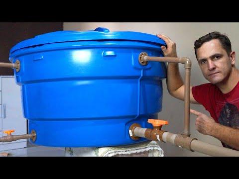 Caixa de água Veja como instalar - Dicas do Fernando