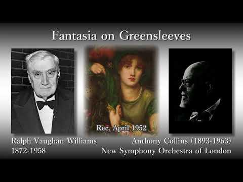 Vaughan Williams: Fantasia on Greensleeves, Collins (1952) ヴォーン・ウィリアムズ グリーンスリーヴス幻想曲 コリンズ