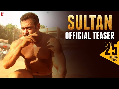 Sultan | Official Teaser:1 | Salman Khan | Anushka Sharma