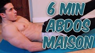 6min Abdos entrainement à la maison!